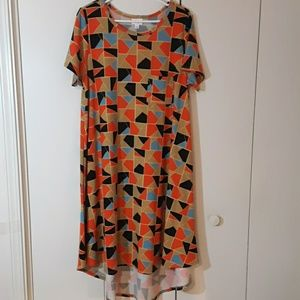 Carly t-shirt swing dress
